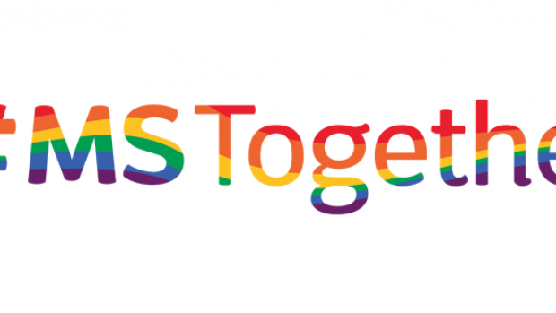 a graphic: Facebook banner MS together