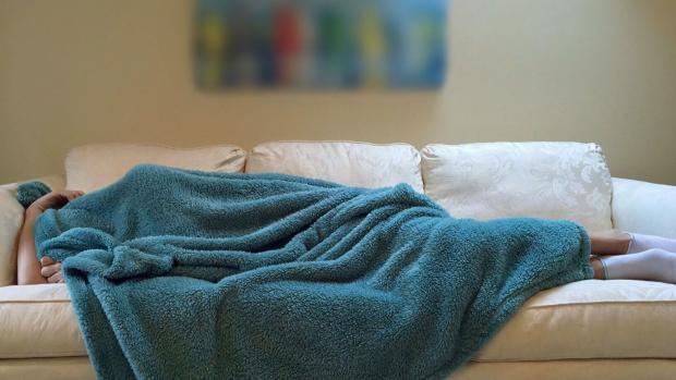 Fatigue sofa blanket