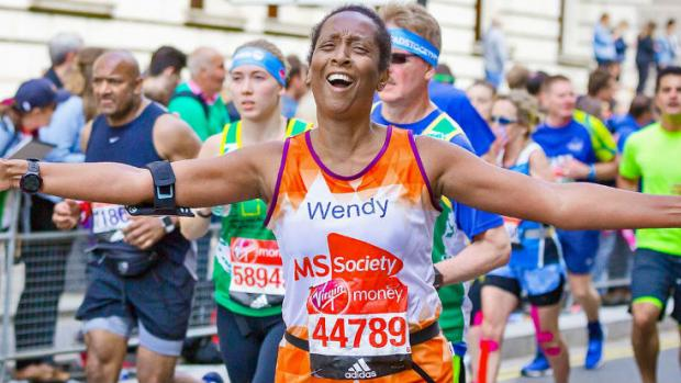 a London Marathon runner