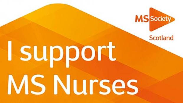 MS Week 2017 - I support MS Nurses