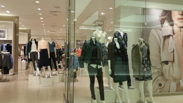 Photo of a women's clothes shop