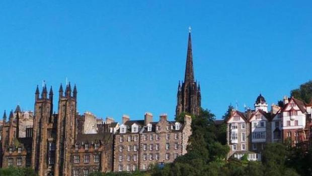 Photo of the Edinburgh skyline