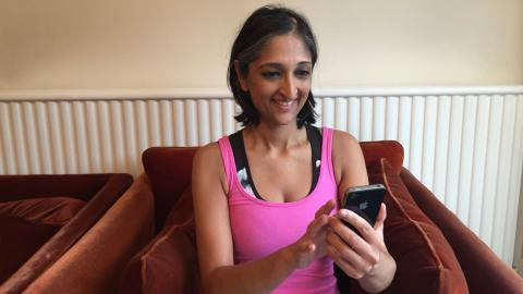 Trishna using mobile